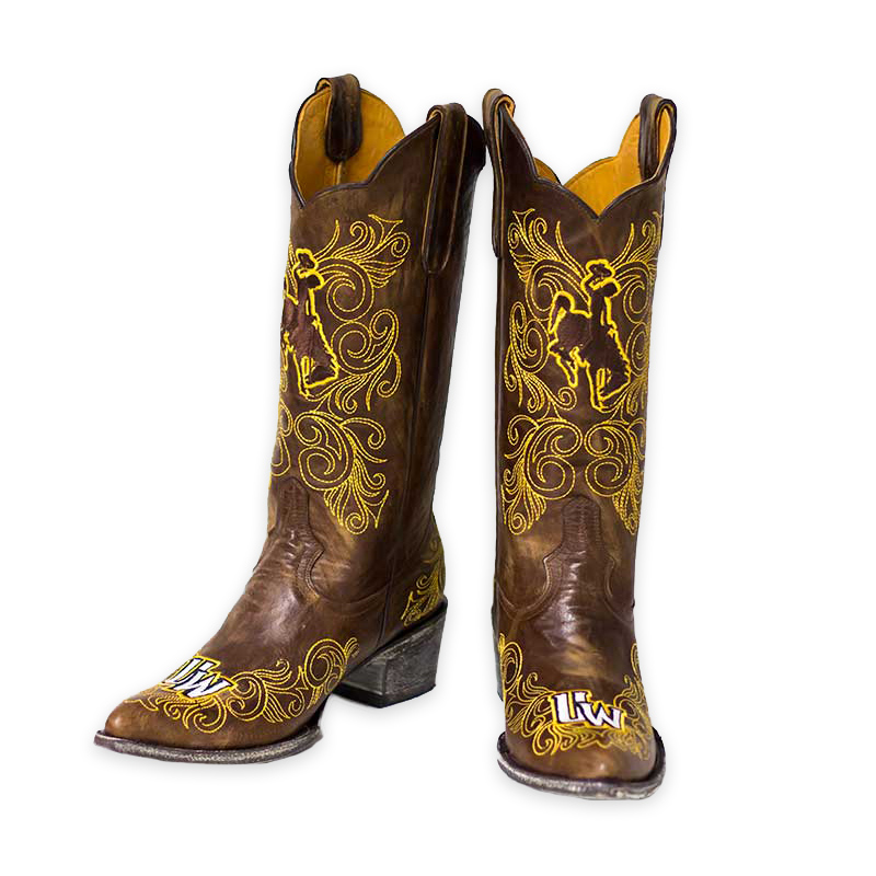 Wyoming Cowgirls Tall Boots