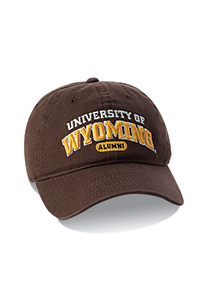 Brown University Of Wyoming Alumni Cap