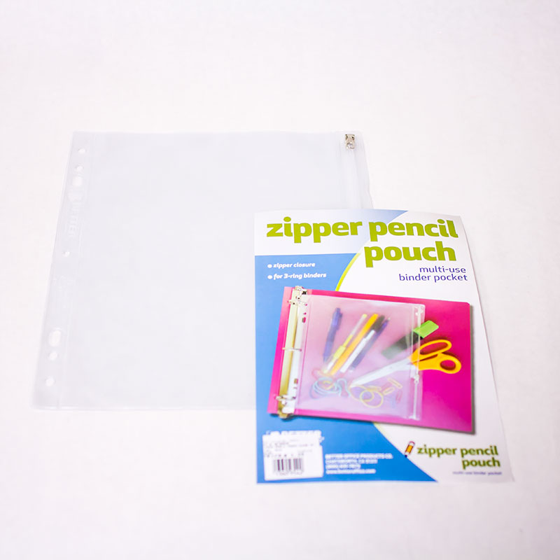 Clear Zipper Pencil Pouch