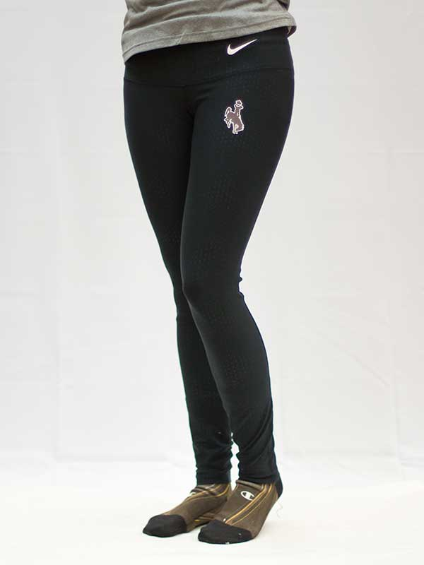Nike Poly Tight Leggings With Bucking Horse