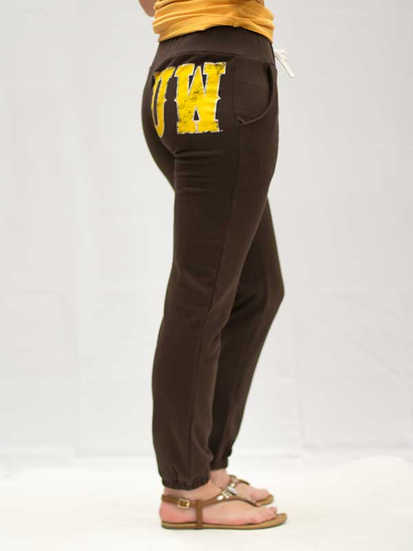 Uw Back Hip Sweatpants With Pockets