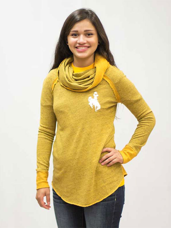 Cowl Neck Ladies Sweater