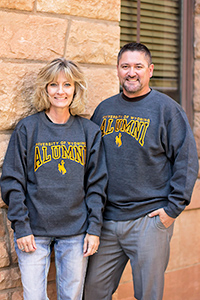 University Of Wyoming Alumni Crewneck