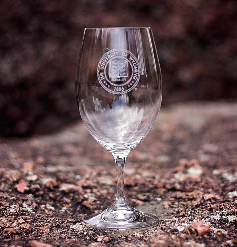Reidel Magnum Wyoming Crest Wine Glass