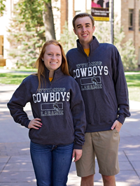 Champion® Wyoming Cowboys Laramie 1/4 Zip