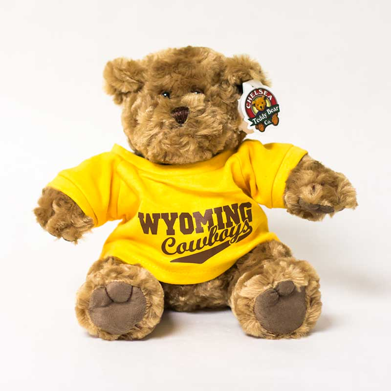 Teddy Bear Wyoming Cowboys