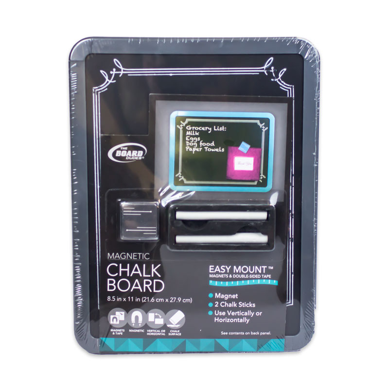 Magnetic Chalk Boards 8.5 x 11
