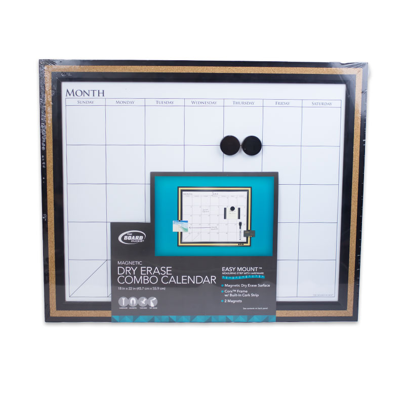 Magnetic Dry Erase Combo Calendar