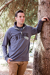 1/4 Zip Wyoming Cowboys Weekend Classic
