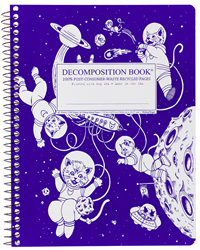 Coilbound Decomposition Book Kittens In Space