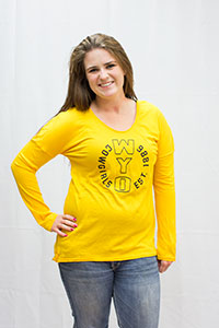 Under Armour® Long Sleeve Cowgirls Tee