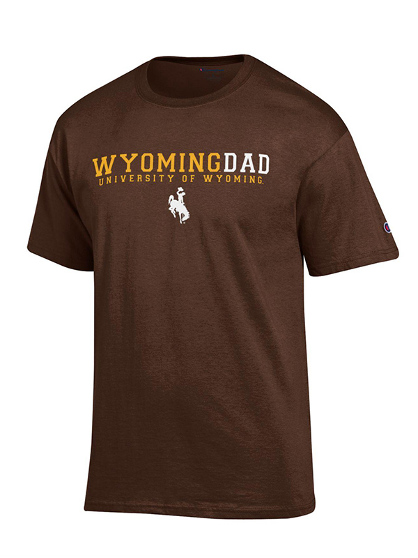 Champion® University of Wyoming Dad Tee (SKU 136719071410)
