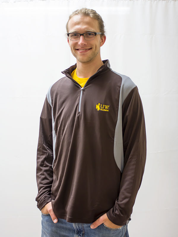 Men's 1/4 Zip Delta Uw Alumni