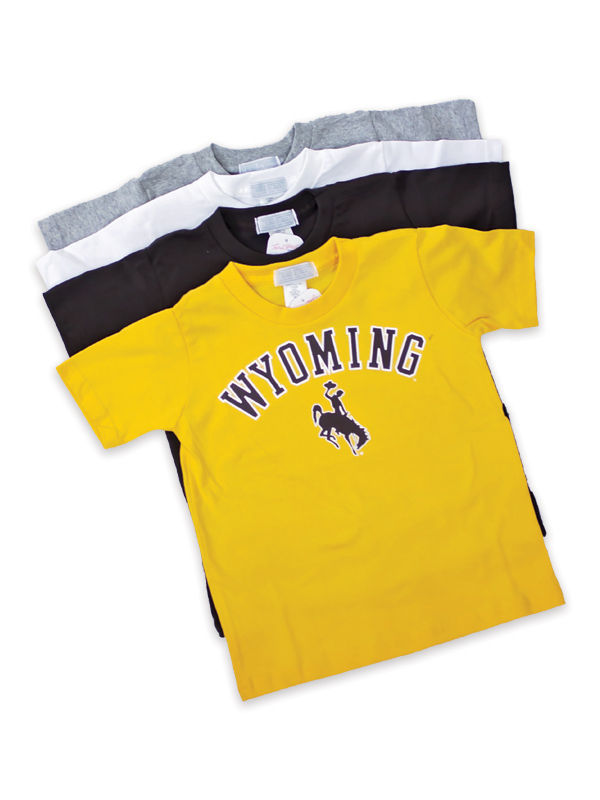 Youth Wyoming Arch Basic Tee (SKU 136735291047)