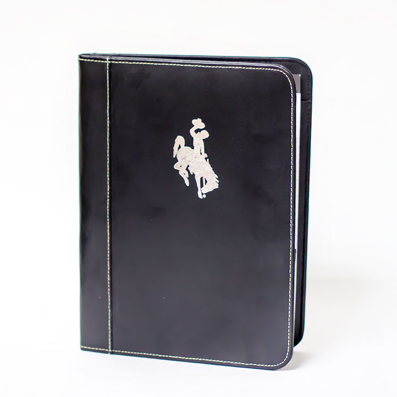 Padfolio With Bucking Horse Logo