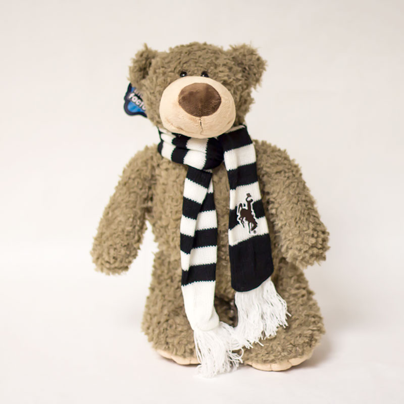 Large Archie Bear With Scarf