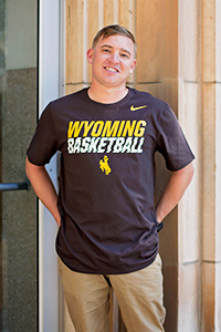 Nike® Wyoming Basketball Tee