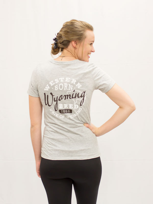 Western Born Ladies V-Neck Tee