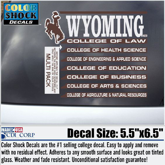 Wyoming College Of Multi Pack (SKU 137123101318)
