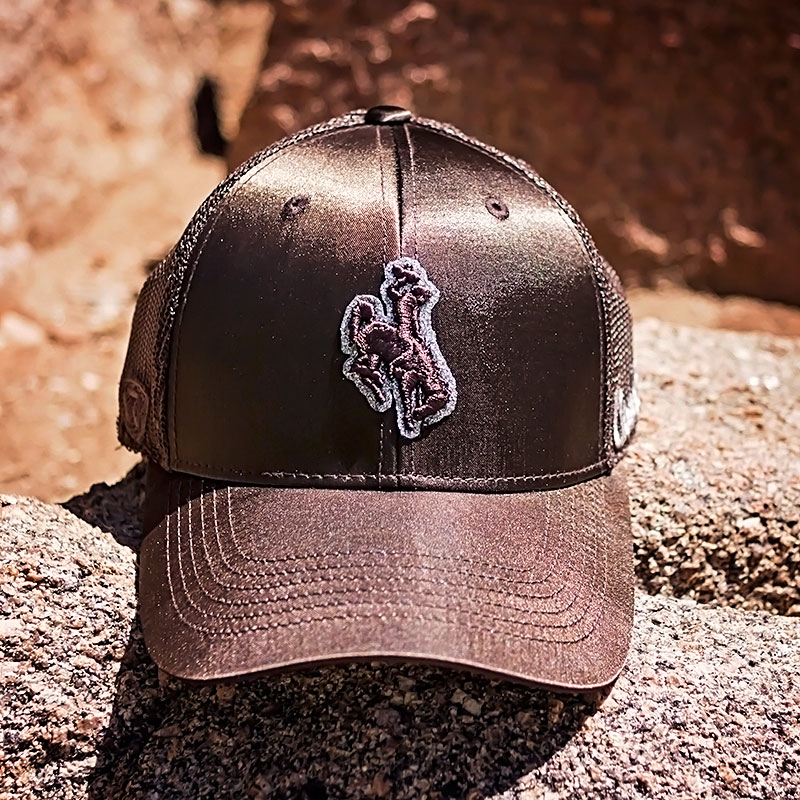 Top Of The World® Ladies Glisten Sparkly Bucking Horse Mesh Cap