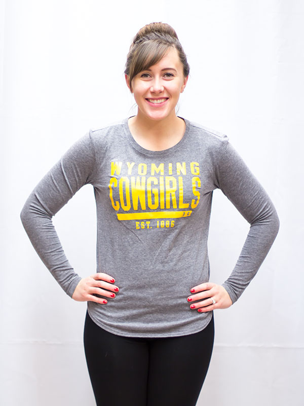 Under Armour® Wyoming Cowgirls Tee