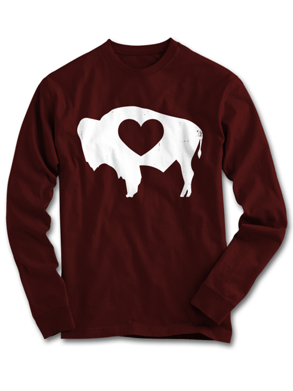 Wyoming Love Long Sleeve Tee