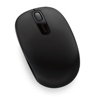 Microsoft Wireless Mobile Mouse 1850- Black