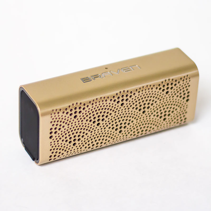 Gold Braven Lux Bluetooth® Speaker