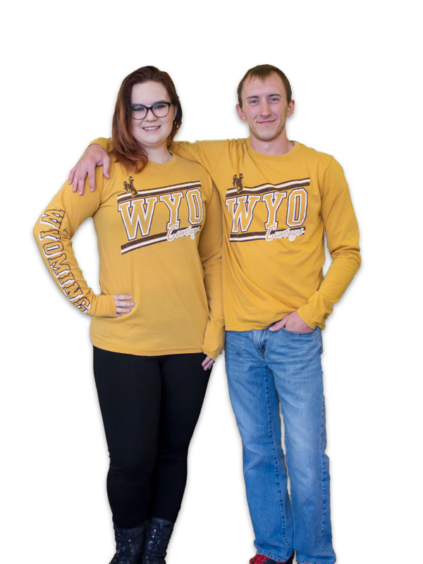 Wyo Cowboys Long Sleeve Soft Tee