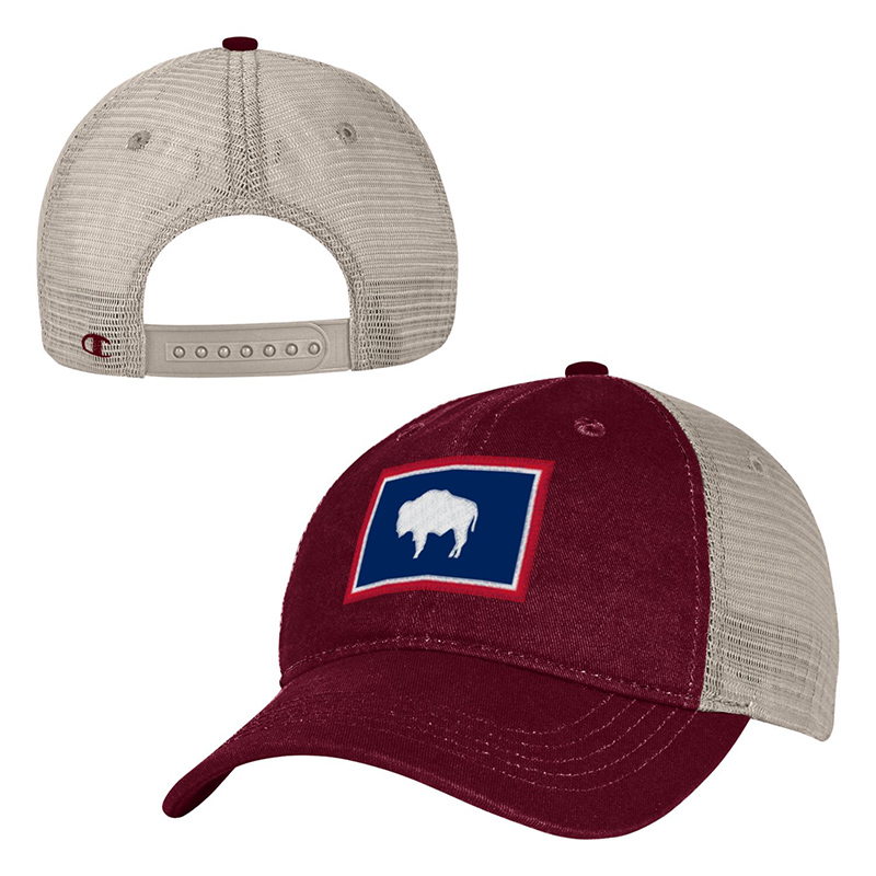 Wyoming State Flag Cap  69f17bdc2