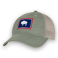 Wyoming State Flag Cap