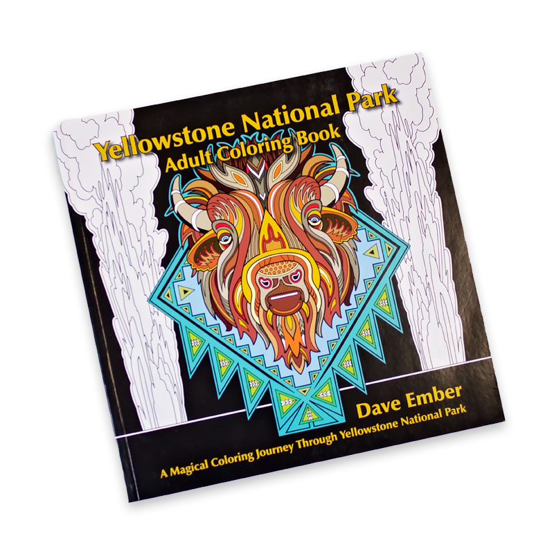 Yellowstone National Park Coloring Book