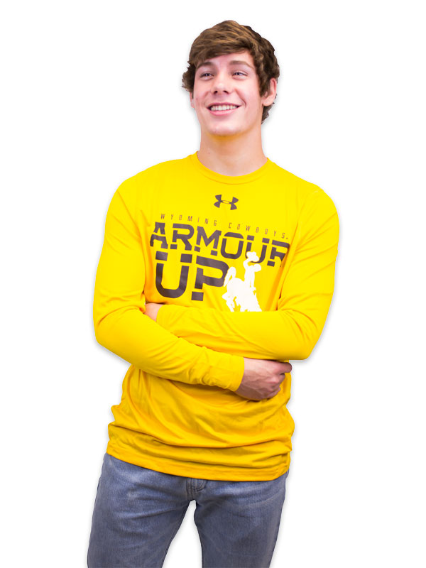 "Under Armour® Long Sleeve Tech Tee ""Armour Up"""