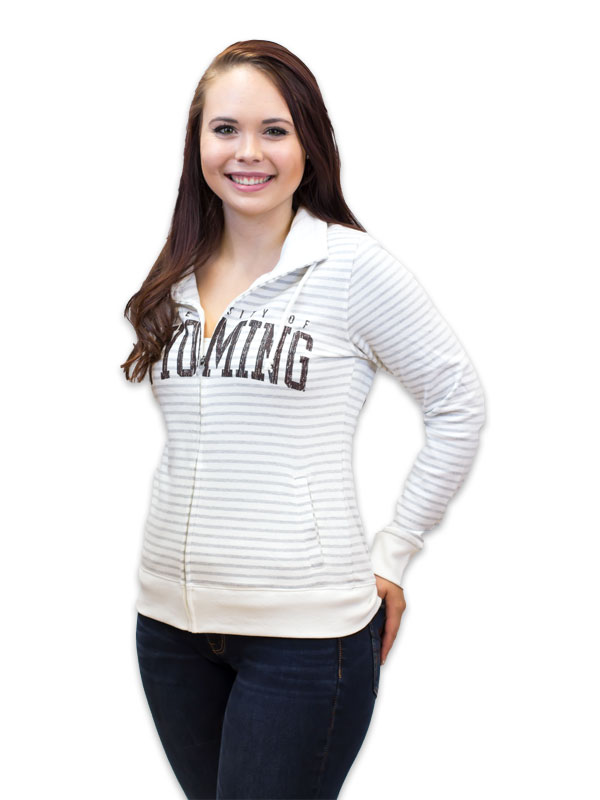 Ladies Resort University Of Wyoming Full Zip