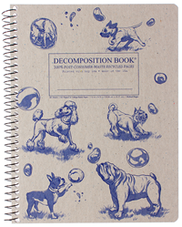 Coilbound Decomposition Book Dogs And Bubbles