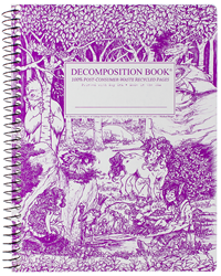 Coilbound Decomposition Book Fairy Tale Forest
