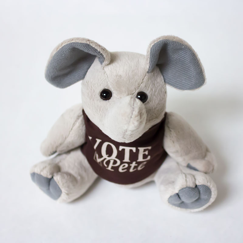 "Party ""Vote Pete"" Plushies"