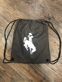 Bucking Horse Drawstring Back Sack