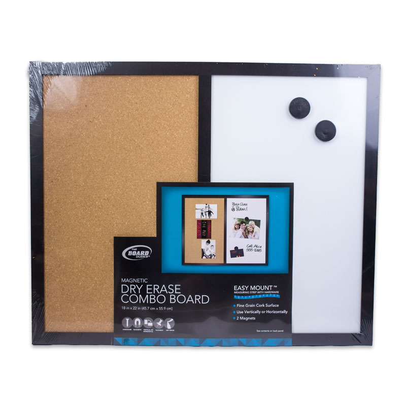 Dry Erase Combo Board 18x22