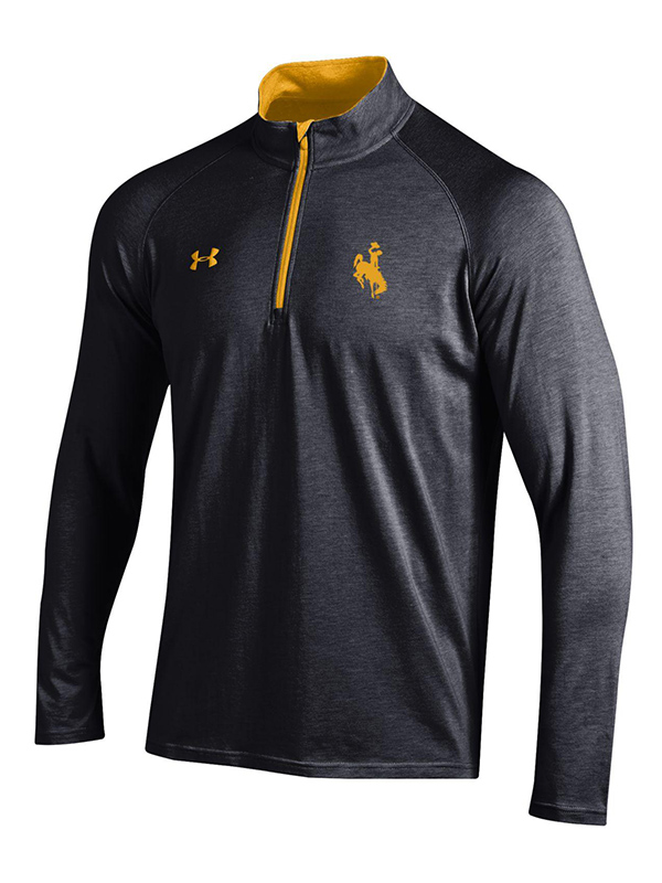 Under Armour® Gray And Gold 1/4 Zip