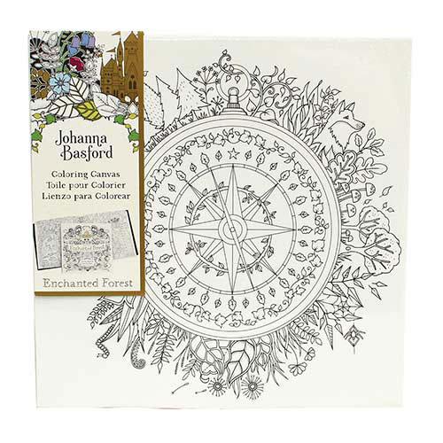 Product Description Enchanted Forest Compass Coloring