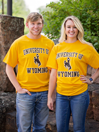 Champion® University of Wyoming Tee