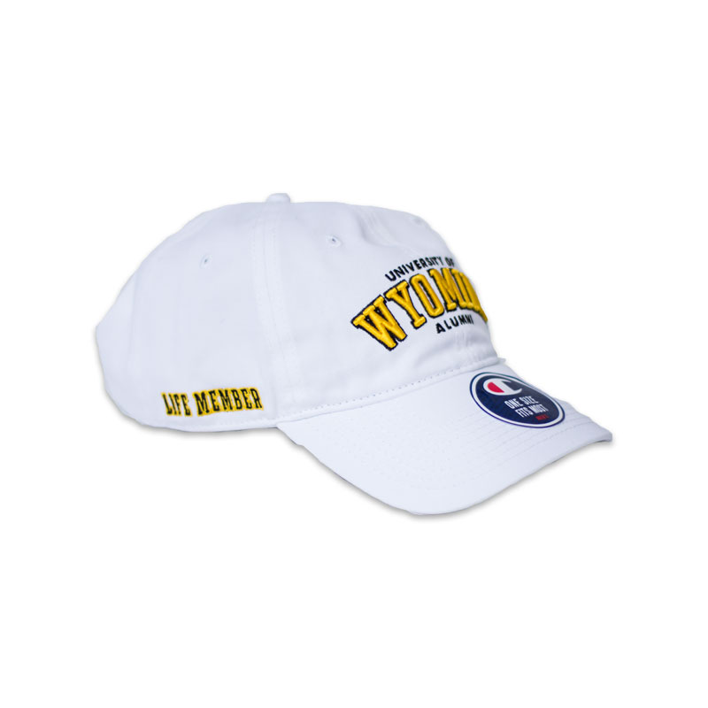 University Of Wyoming Alumni Life Member Cap