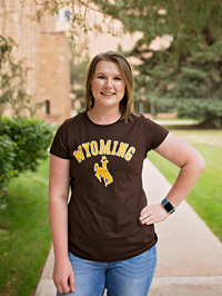 Women's Basic Wyoming Arch Tees