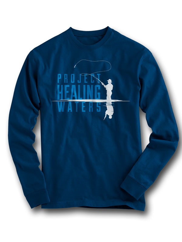 Project Healing Waters Long Sleeve Tee