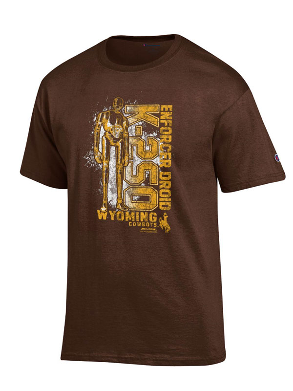 Star Wars Rogue One Wyoming K-250 Brown Tee