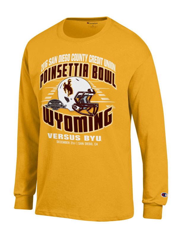 2016 Poinsettia Bowl Game Long Sleeve