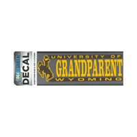CDI Corp. Colorshock™ University of Wyoming Grandparent Decal