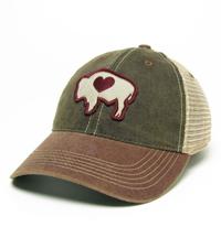 Legacy® Buffalo Heart Cap