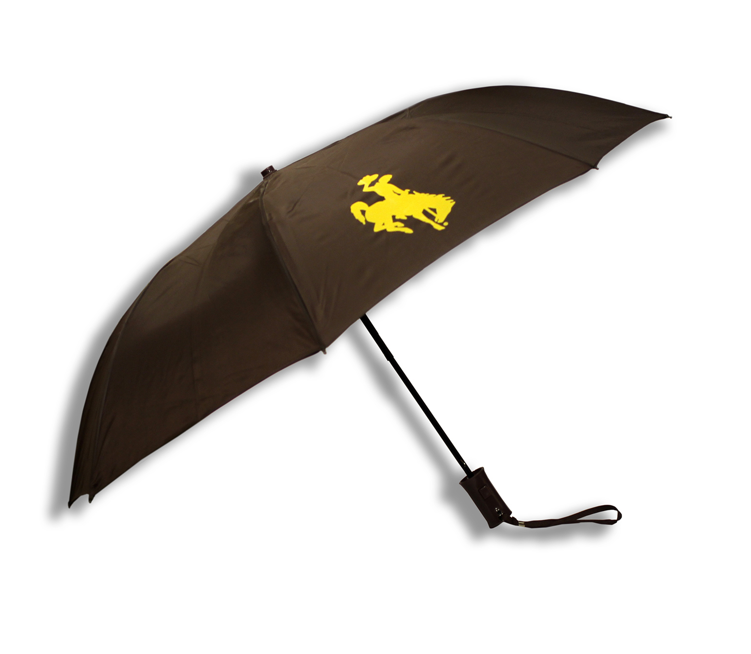Brown Bucking Horse Umbrella 42""